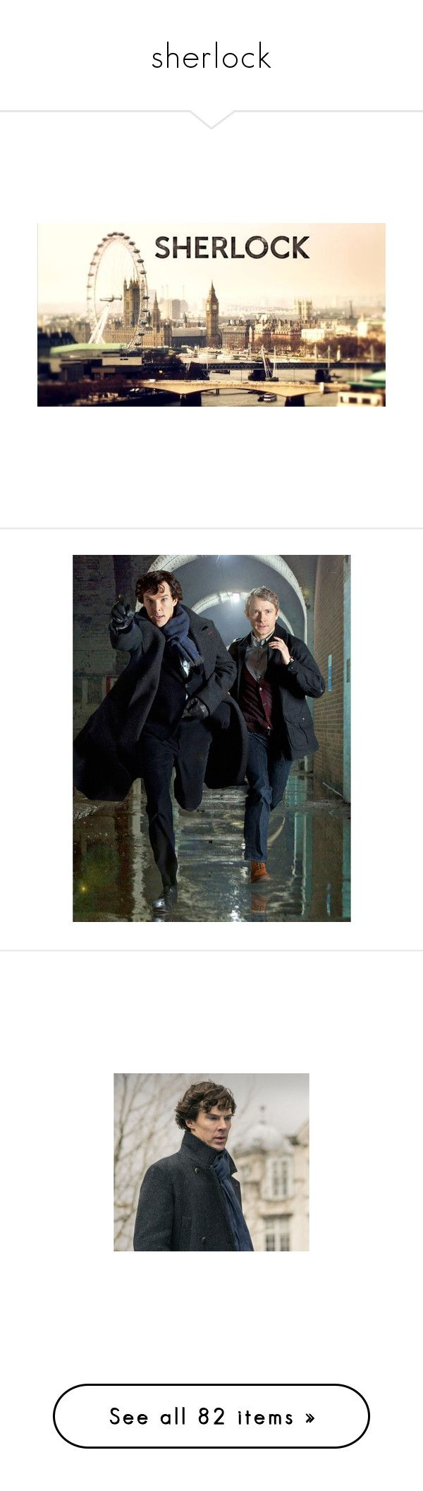 """""""sherlock"""" by zoe-sears on Polyvore featuring sherlock, backgrounds, fillers, art, other, sherlock holmes, pictures, people, images and filler"""