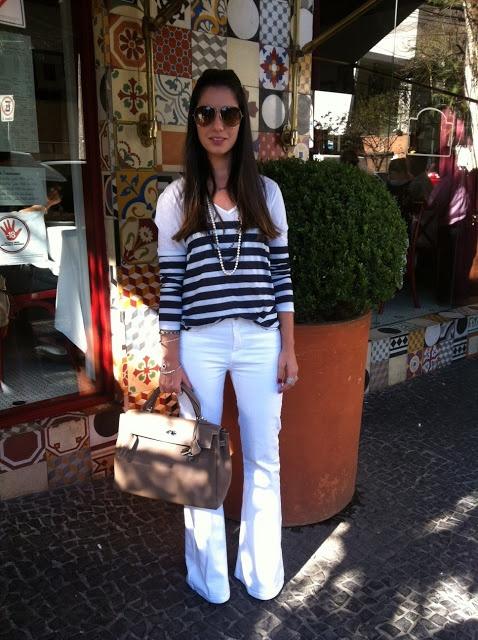 Espelho da Luluzinha: Desafio do Guarda roupa: Calça branca