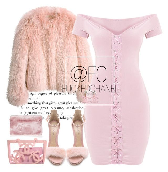 """RICH MAMI LOOK PT7"" by fuckedchanel ❤ liked on Polyvore featuring Balenciaga, Monique Lhuillier and Topshop"