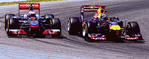 vettel and button