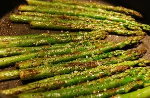 Sauteed Asparagus Recipe | ButterbeanQueen.com