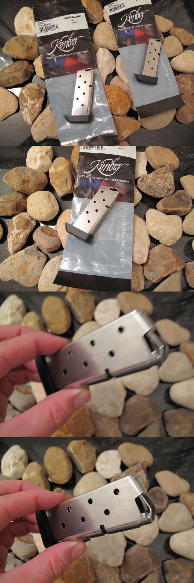 Magazines 177879: 2 Pack Kimber Micro 9 Extended Pinkie (2017 Model!) 7 Round Magazine Mag 9Mm -> BUY IT NOW ONLY: $62.0 on eBay!