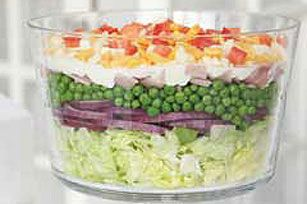 Classic Layered Salad.  Love a CLASSIC. :-)