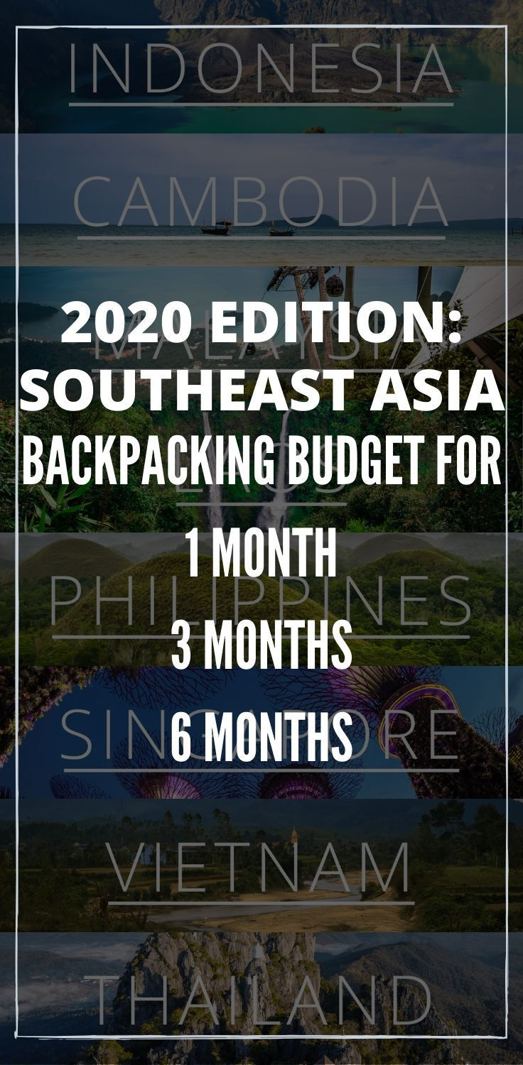 How Much Money To Backpack Southeast Asia