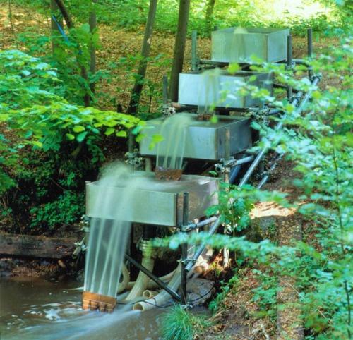 waterfall fountain in backyard - Waterfall Fountain