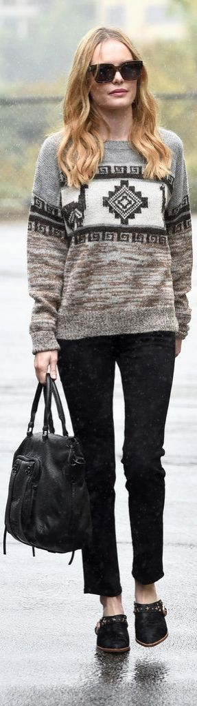 Kate Bosworth carrying a She + Lo Next Chapter Snake Embossed Leather Satchel ($298)