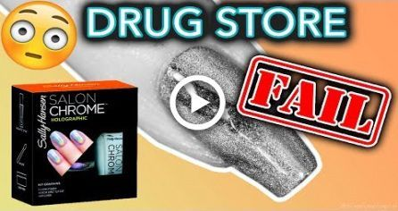 Drug Store Nail Powders FAIL (what the Sally Hanse…