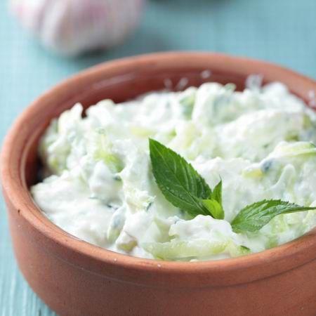 Mentás-joghurtos uborkasaláta Recept képpel - Mindmegette.hu - Receptek