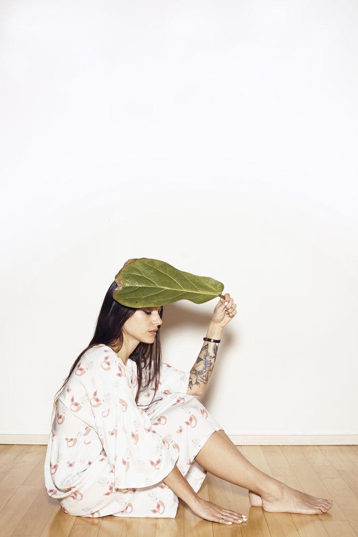 SS17 - NORDIC SUMMER - LES PETITS VAGABONDS #mumwear #mermaid #summerdress #tatoo #leaf