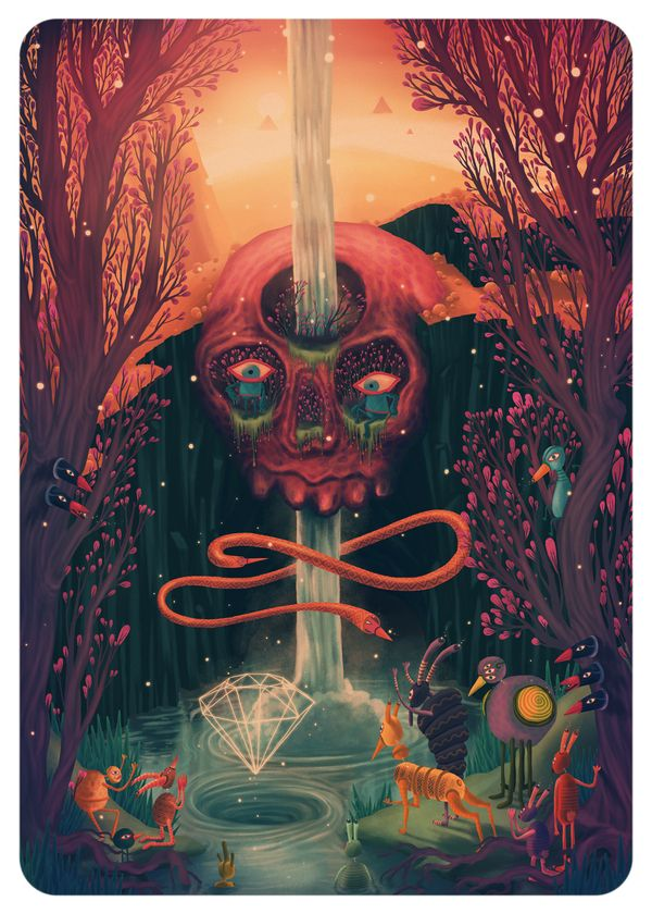 CHAPTER XLIV - ECHOES by Depthcore , via Behance