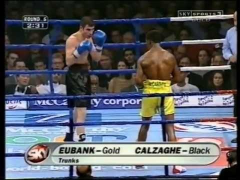 Joe Calzaghe vs Chris Eubank