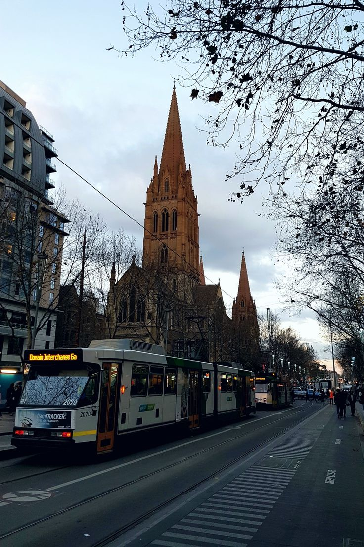 """St. Paul's Cathedral"", CBD, Melbourne"