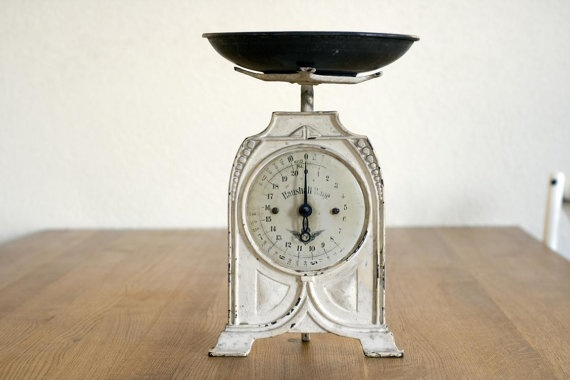 Stunning 1910 farmhouse kitchen scales shabby by for Home decor 1910