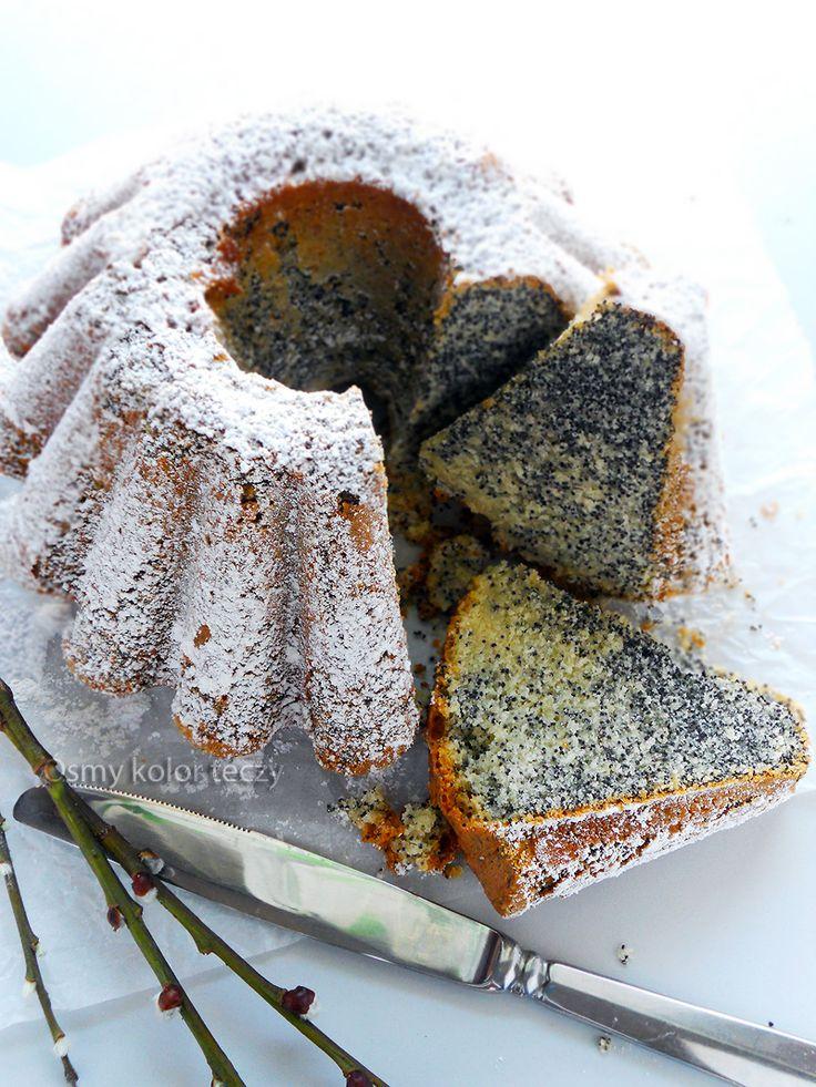 Piegus – piaskowa babka makowa. | Ósmy kolor tęczy - Blog kulinarny