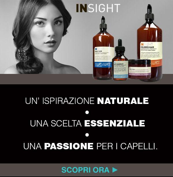 Scelta Naturale. Prodotti senza: SLS/SLES FREE, PETROLATUM FREE, SILICON FREE. #insight #prodottinaturali