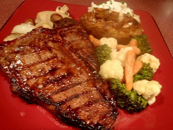 This is an excellent marinade for any steak.  The flavor is just wonderful.  Our T-bones came out perfect.  Very tender with a wonderful flavor. The original recipe is from TOH with some changes to suit our taste. Prep time does not include the time it takes to marinate the steaks.