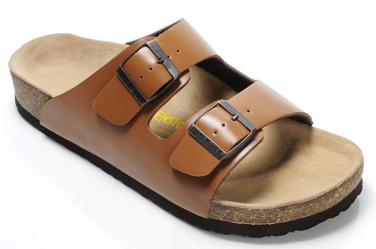 Dark Orange Women's Birkenstock Arizona Sandals. Such a comfortable shoe. I need them.