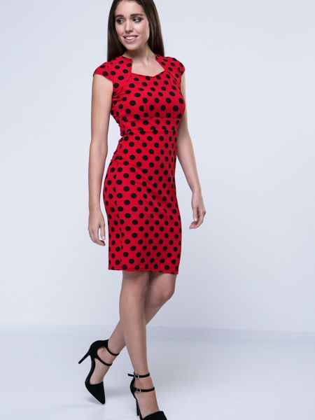 Buy Vintage Polka Dot Bodycon Dress online with cheap prices and discover fashion Bodycon Dresses at Fashionmia.com.