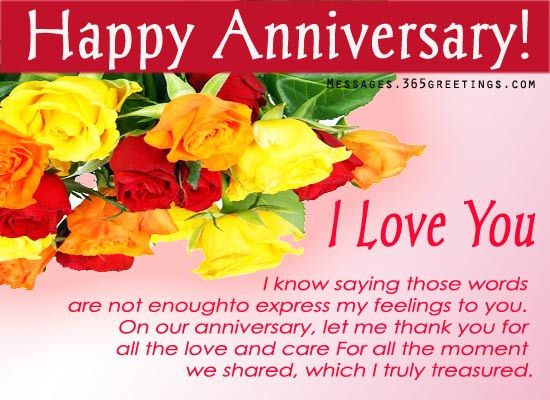 Anniversary Messages for Boyfriend - Messages, Wordings and Gift Ideas