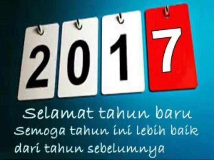 Selamat Tahun Baru semua. Moga tahun ini lebih membahagiakan..