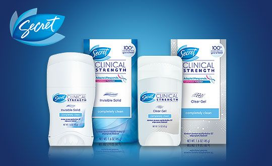 My Review of #SecretClinical Clear Gel Deodorant #GotItFree