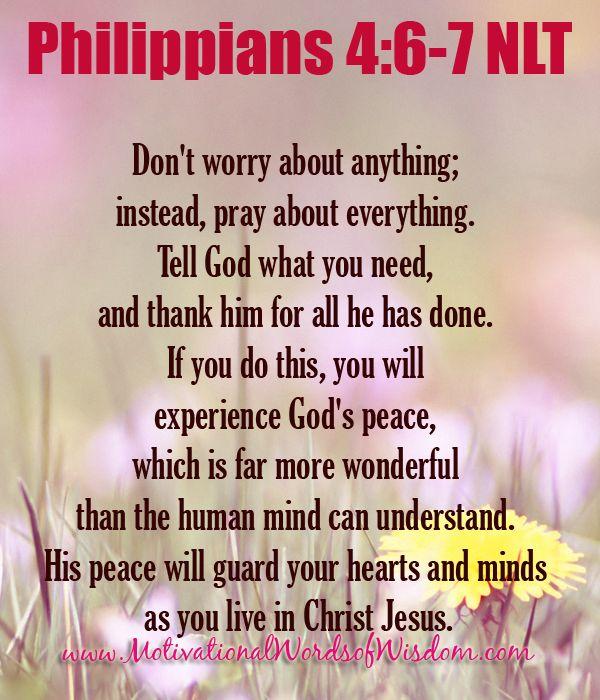 Philippians 4:6-7†