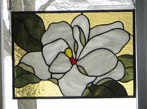 Stained Glass Heirlooms: Magnolia