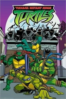 Teenage Mutant Ninja Turtles Cartoon Poster 24 X 36 457 on eBay!