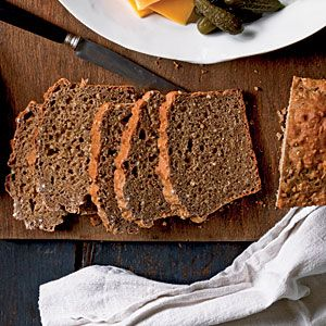 Whole-wheat flour, wheat germ, and steel-cut oats (also called Irish oatmeal) make this a super-healthy interpretation of the classic Irish bread.This recipe goes with Ploughman's Lunch Platter, Smoked Salmon with Tangy Horseradish Sauce