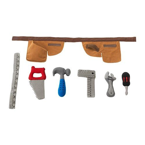 DUKTIG Toolbelt with soft toys IKEA
