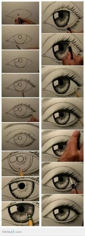 How to draw eyes   SWAGCT #Eyes by Keunsup Shin