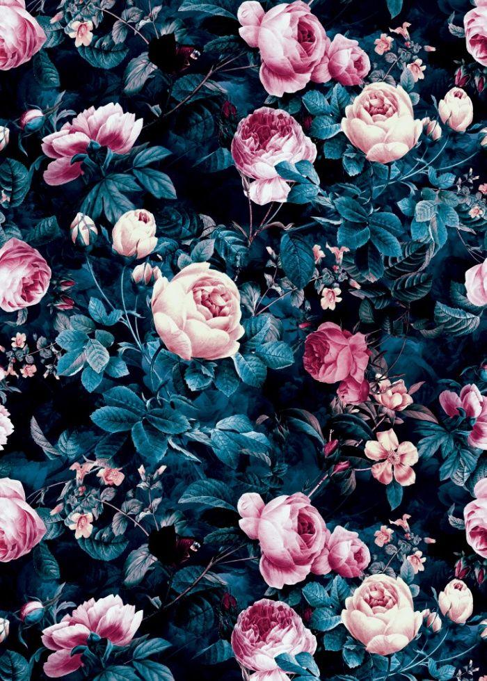 floral, fashion, pattern, moda...
