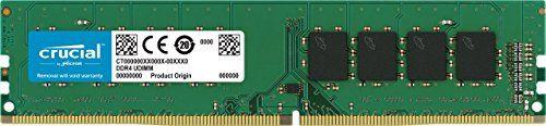 From 37.67 Crucial 4gb Ddr4 2400 Mt/s (pc4-19200) Sr X8 Dimm 288-pin - Ct4g4dfs824a