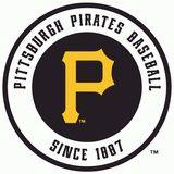 Pittsburgh Pirates Placa de lata