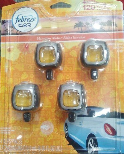 #Febreze #Car #Clip #Air #Freshner #Hawaiian #Aloha #Scent 4 Clips - 0.06 fl. oz. Lasts up to 30 days Eliminates tough odors https://automotive.boutiquecloset.com/product/febreze-car-clip-air-freshner-hawaiian-aloha-scent/