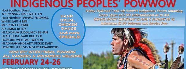 Indigenous Peoples' Powwow at MTSU..