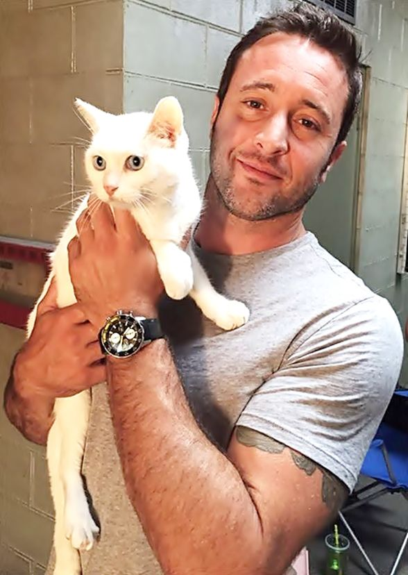 Mr. Pickles ♥♥♥ BTS #H50 ep 5.17 - Alex O'Loughlin and Mr. Pickles