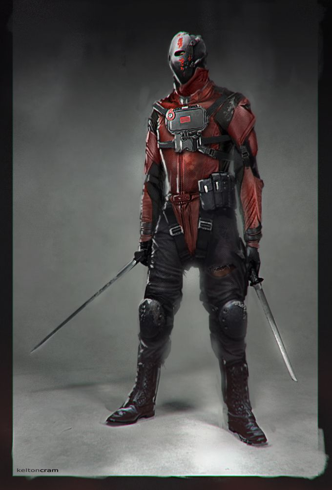 Concept Art from a Scrapped DEADPOOL Film Pitch from KICK-ASS 2 Director