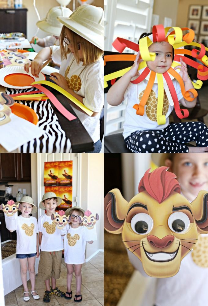 Disney Lion Guard & Lion King Party and Craft Ideas