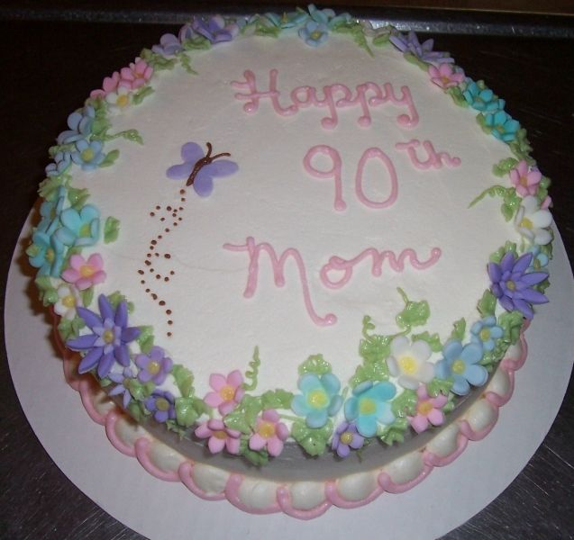 23 best birthday cakes images on Pinterest 90th birthday ...