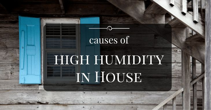 Causes of High Humidity In a House You Should Know