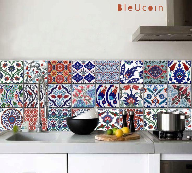 Cuisine / salle de bains turque carrelage / mur decals par Bleucoin