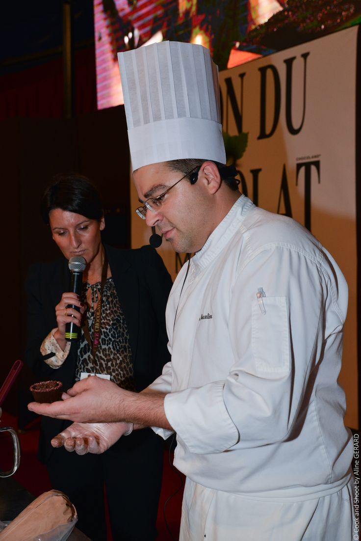 Cup cake Σεμινάριο Γαλλικής Ζαχαροπλαστικής, Julien Beaulieu 1-12-2014, Hotel Sofitel Athens Airport,