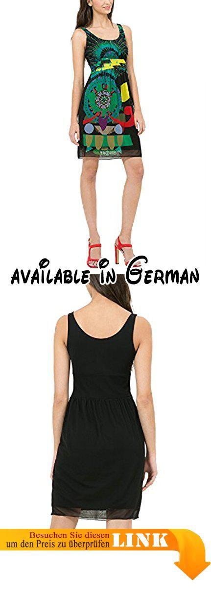 Desigual Damen A-Linie Kleid CELIA, Knielang, Gr. 42 (Herstellergröße: XXL), Schwarz (NEGRO 2000). Desigual Damen Kleid #Apparel #DRESS