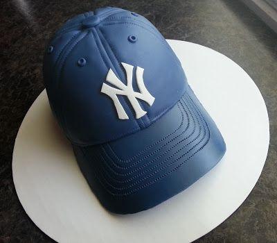 baseball hat cake - Google Search