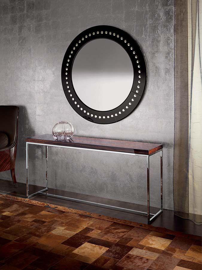 Luna Rectangular Console Table.  No dimensions, no price.  Sovereign Interiors
