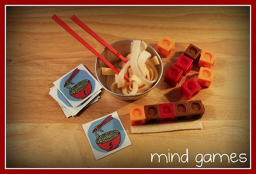 My take on the measuring noodles activity for Chinese New Year.