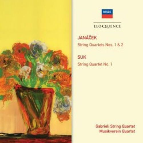 Janácek: String Quartets Nos. 1 & 2; Suk: String Quartet No. 1 [CD]