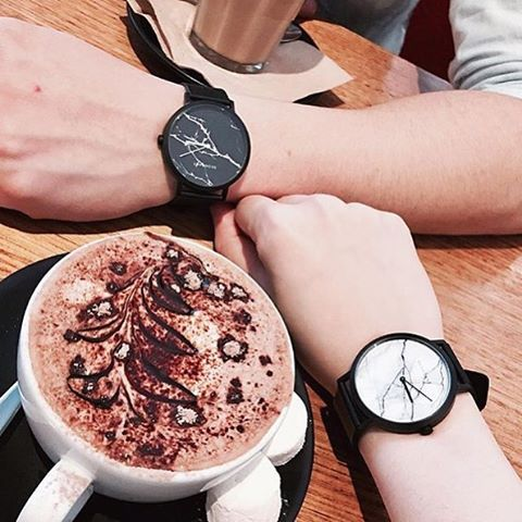 Morning mug & marble ☕️⌚️ Unisex style @annytam #watchcollection