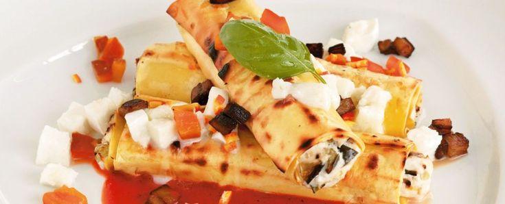 ricetta cannoli-ripieni-di-melanzane-e-ricotta